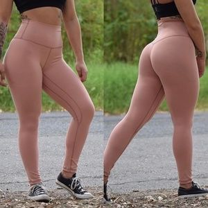 Til You Collapse TYC Nude Leggings